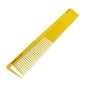 Расческа парикмахерская для стрижки волос SWAY Yellow Comb Ion+ 006, комбинированная прямая