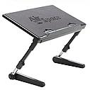 Регулируемая подставка для ноутбука AirSpace с вентилятором. sale, фото 4