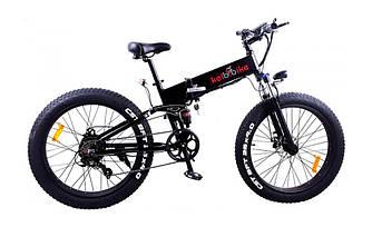 """Електровелосипед фэтбайк 26"""" Kelbbike E-1911WS-26 500W, 48V, білий"""
