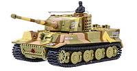Танк микро р/у 1:72 Tiger со звуком ( хаки коричневый), фото 1