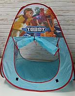 """Палатка с изображением персонажей мультфильма """"Тоботы"""" 999-65A"""
