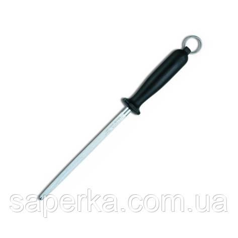 Точило Victorinox Domestic коло medium з чорною ручкою  27 см, дерев'яна рукоять (Vx78330), фото 2