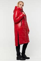 Яскрава якісна жіноча зимова куртка Юзефа