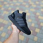 Мужские зимние ботинки Adidas INIKI (черные) 3551, фото 2