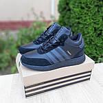 Мужские зимние ботинки Adidas INIKI (черные) 3551, фото 4
