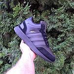Мужские зимние ботинки Adidas INIKI (черные) 3551, фото 9