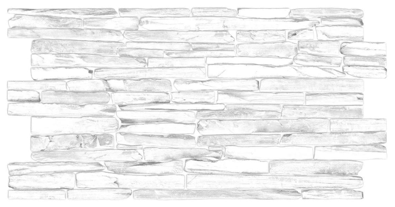 Декоративная Настенная Панель ПВХ Grace (Кварцит серый)