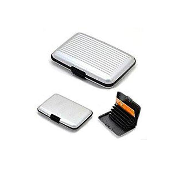Универсальный металлический кошелек Aluma Wallet для мужчин и женщин