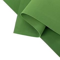 Фоамиран листовой  50 х 50 см., темно-зеленый