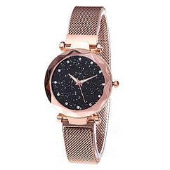 Жіночі наручні годинники Starry Sky watch (золото)