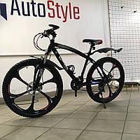 """Велосипед гірський BMW 26/"""" на литих дисках Чорний на ріст 145-180см"""