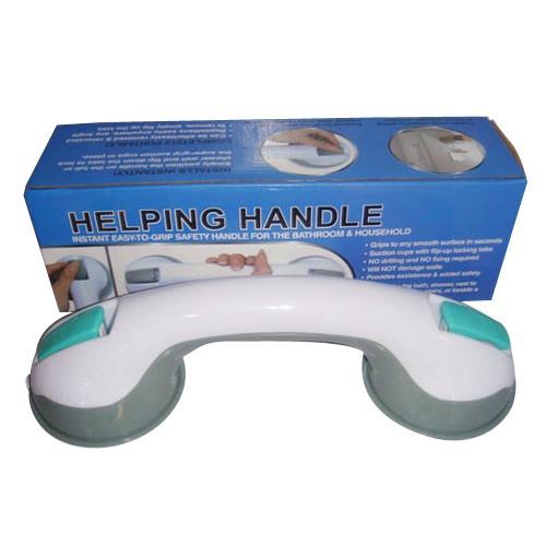 Портативная ручка-поручень Helping Handle на вакуумных присосках для ванной и туалетной комнаты