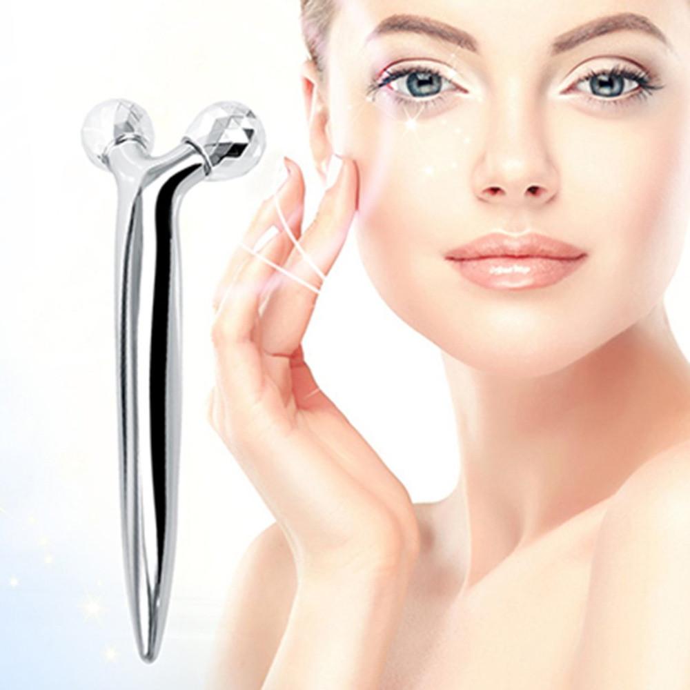 Ручной мини 3D-массажер для укрепления кожи. 3D-массажер для лица и тела