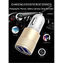 Автомобильное зарядное устройство GOLF GF-C13 2USB 2.1A Quick Charging TOP, фото 5