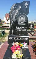 Памятник из гранита с ангелом № 34