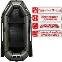 Надувная гребная двухместная лодка из ПВХ Лисичанка Л-240