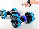 Машинка перевёртыш Super double flip stunt (пульт на руку и пульт обычный) (1h-c019) (12) sale, фото 5