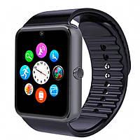 Умные смарт часы телефон камера microSD Smart Watch Phone GT08 Black (СКЛАД-1шт)