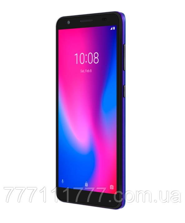 Смартфон синий, тонкий, безрамочный с большим дисплеем на 2 сим карты ZTE Blade A3 2020 Blue