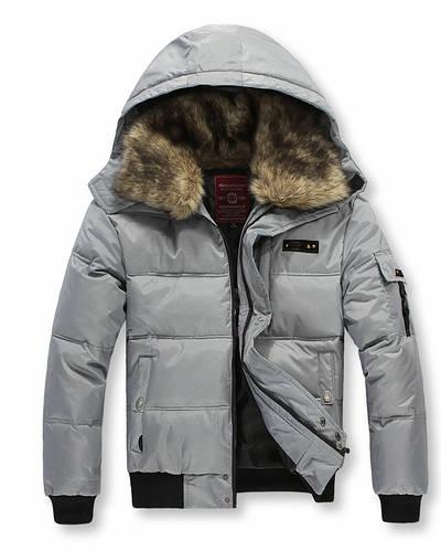 Куртка мужская зимняя пуховик большие размеры, фото 2