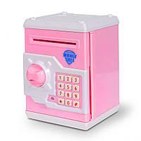Копилка-сейф MK 3916 (Розовый)