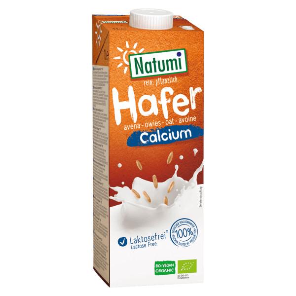 Вівсяний органічний напій з кальцієм Natumi, 1 л