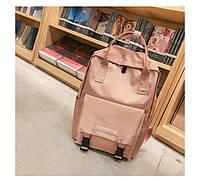 Сумка рюкзак для девочки подростка водонепроницаемый розовый.