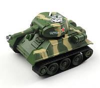 "Радиоуправляемый танк микро р/у ""Tank-7"" (СССР) 67х40х40 мм"