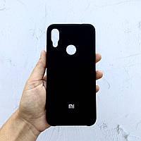 Чехол на Xiaomi Redmi Note 7 Silicone Case черный силиконовый / для сяоми редми нот 7, ксяоми ноут ксиоми
