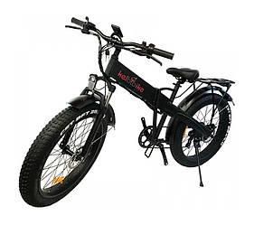 """Електровелосипед фэтбайк 26"""" Kelbbike E-1913WS-26 500W, 48V, чорний"""