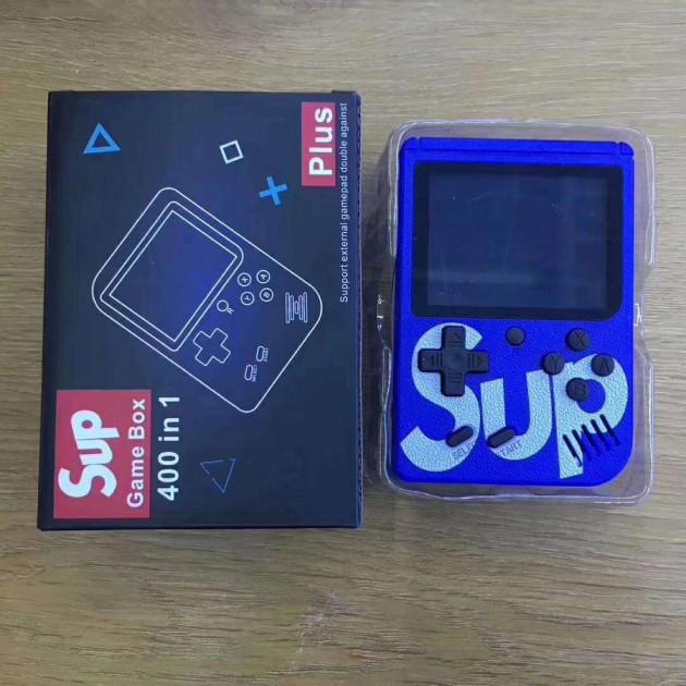 Портативная Игровая консоль SUP Game Box Синяя