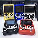 Портативная Игровая консоль SUP Game Box Синяя, фото 4