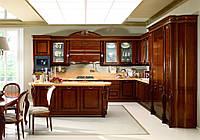 Кухня деревянная ясень