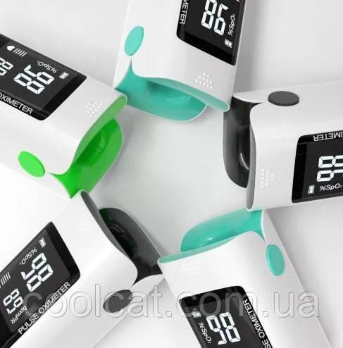 Пульсометр беспроводной Pulse Oximeter X1805 / Пульсометр оксиметр на палец
