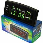 Часы настольные CX 868 с зеленой подсветкой, фото 3