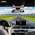 Видеорегистратор зеркало с двумя камерами REMAX Weon Series Driving Recorder CX-06 1080p, серый, фото 2