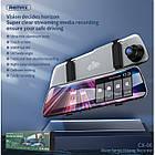 Видеорегистратор зеркало с двумя камерами REMAX Weon Series Driving Recorder CX-06 1080p, серый, фото 3