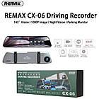 Видеорегистратор зеркало с двумя камерами REMAX Weon Series Driving Recorder CX-06 1080p, серый, фото 5