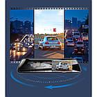 Видеорегистратор зеркало с двумя камерами REMAX Weon Series Driving Recorder CX-06 1080p, серый, фото 6