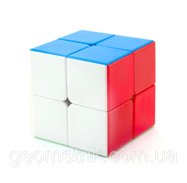 Кубик Рубика ShengShou Mr M 2x2 магнитный (цветной)