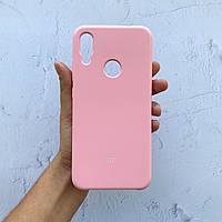 Чехол на Xiaomi Redmi Note 7 Silicone Case розовый силиконовый / для сяоми редми нот 7, ксяоми ноут ксиоми