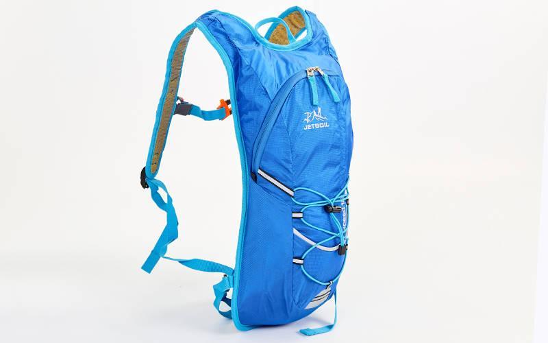 Рюкзак спортивный с жесткой спинкой planeta-sport GA-2062 29х9х45см Синий