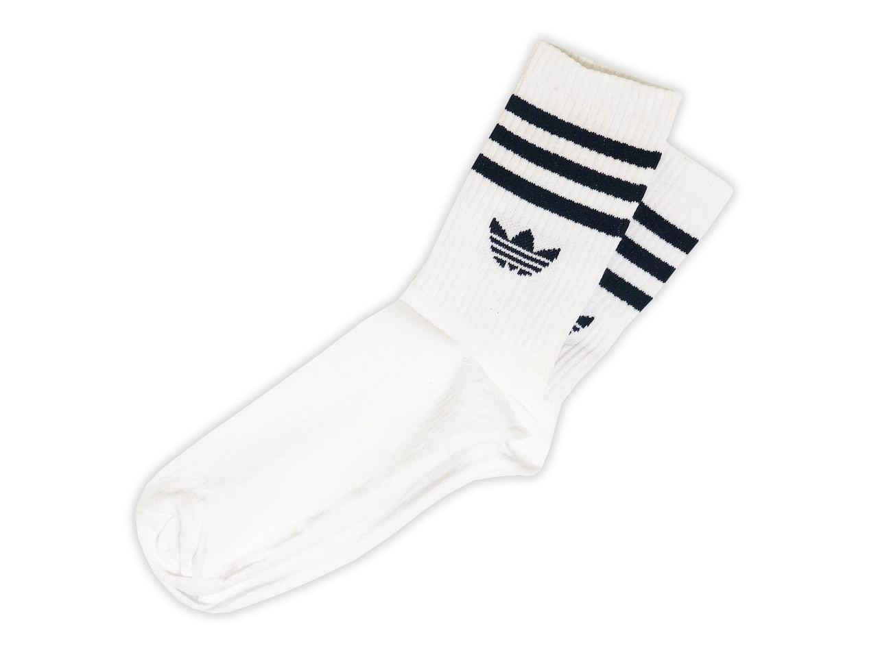 Мужские носки A белые с синим