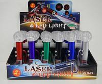 KLQ-76 Laser and Led Light, Фонарик-брелок-лазерная указка