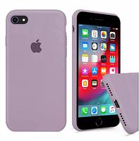 Чехол Silicone Case full для iPhone 6/6s Plus Blueberry Черничный