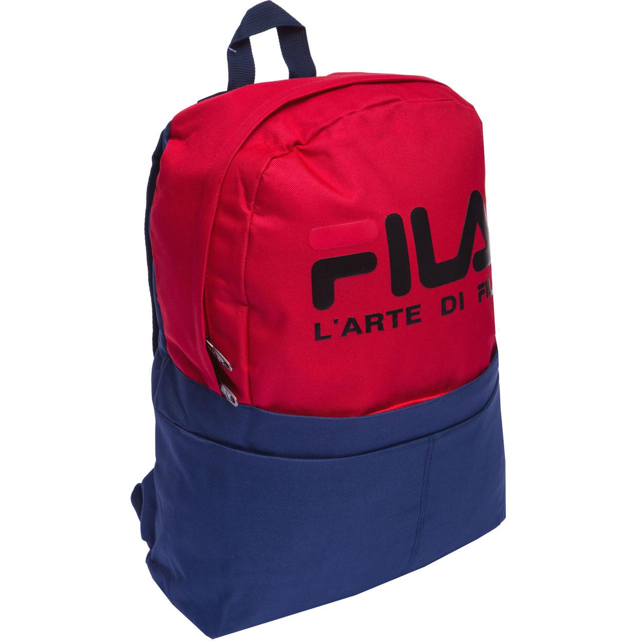 Рюкзак городской planeta-sport FLA GA-0511 40x31x13см Сине-красный