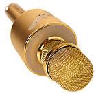 Караоке-мікрофон портативний DM YS-66 5548, золотий, фото 2