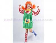 Карнавальный костюм Пеппи Длинный Чулок, S/M/L