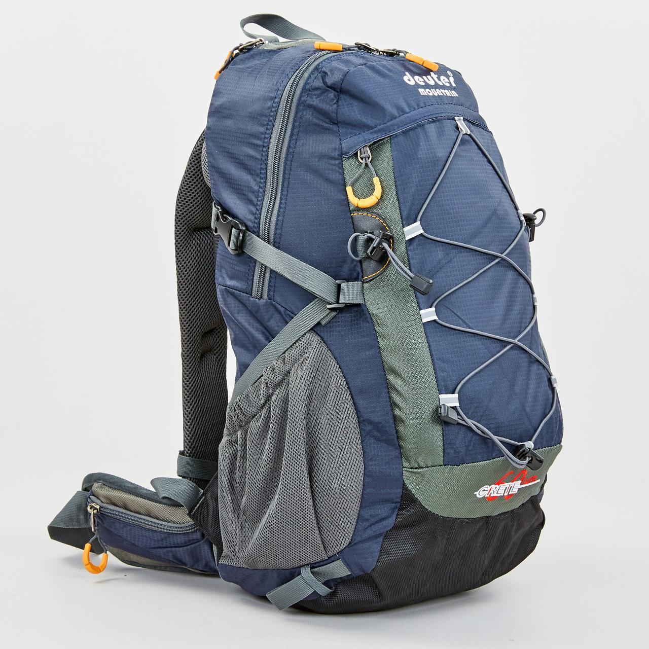 Рюкзак спортивный с каркасной спинкой planeta-sport DTR V-60л 8810-6 49х29х24см Темно-синий