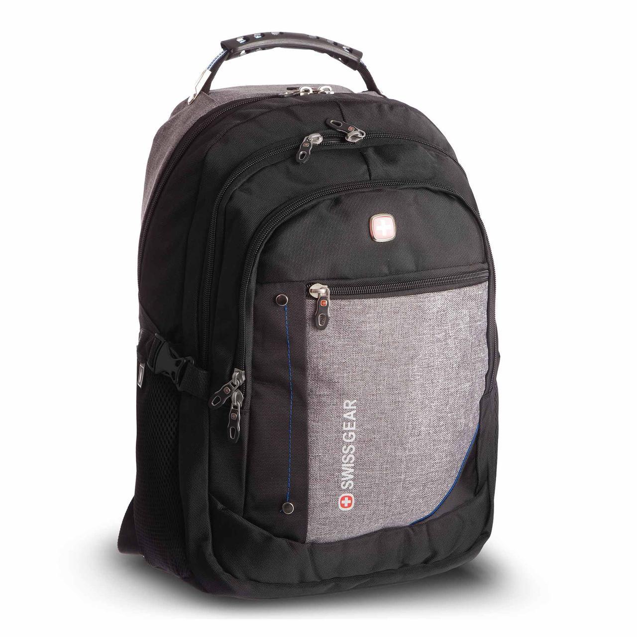 Рюкзак городской planeta-sport VICTOR 35л 6620 20x35x47см USB Серый